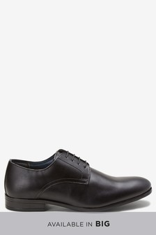 Plain Derby Lace-Up