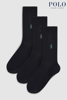 Polo Ralph Lauren® Egyptian Cotton Sock Three Pack