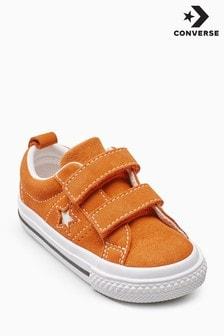 Converse Orange One Star Velcro