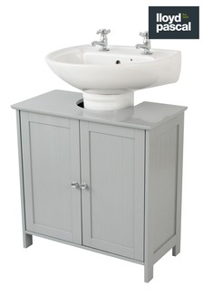 Lloyd Pascal Grey Painted Under Sink Storage