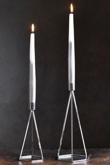 Hexagon Taper Candle Sticks