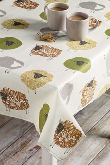 Sheep PVC Table Cloth