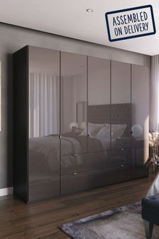 Monroe Five Door Wardrobe