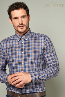 Signature Check Slim Fit Shirt
