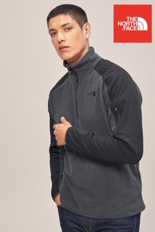 The North Face® Grey Heather Glacier Delta 1/4 Zip