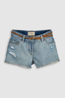Shorts With Belt (3-16yrs)