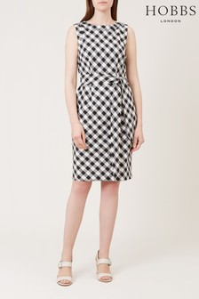 Hobbs White Amalfi Dress