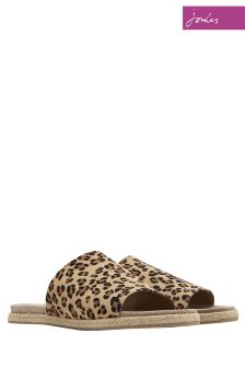 Joules Leopard Faraway Sandal