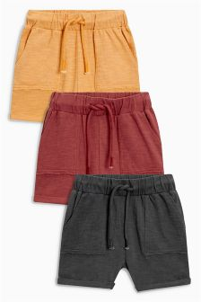 Lightweight Shorts Three Pack (3mths-6yrs)