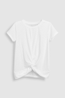 Twist Front T-Shirt (3-16yrs)