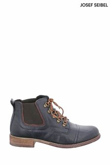 Josef Seibel Blue Sienna Casual Lace-Up Boots