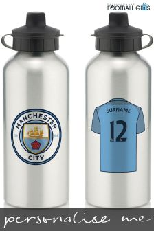 Personalised Football Team Water Bottle By Personalised Football Gifts