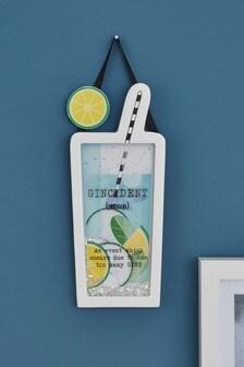 Gin Shaker Hanging Decoration