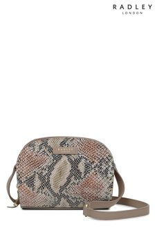 Radley Mink Small Cross Body Zip Around Bag
