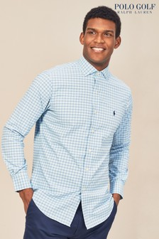Polo Golf by Ralph Lauren Austin Blue/Navy Check Shirt
