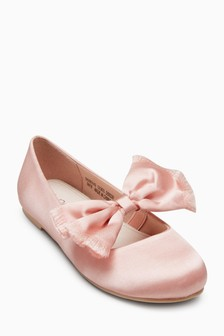 Bow Satin Shoes (Older)