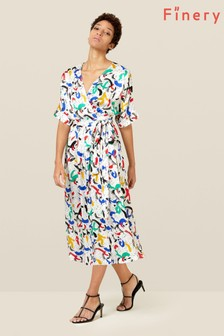 Finery London Multi Sabine Wrap Dress