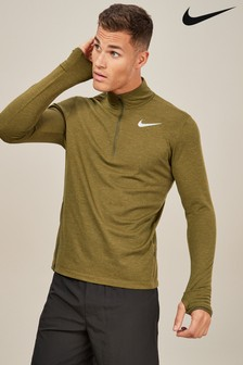 Nike Green Element Top