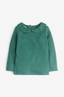 Long Sleeve Collar Top (3mths-7yrs)