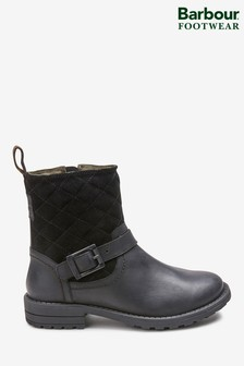 Barbour® Black Sienna Boot
