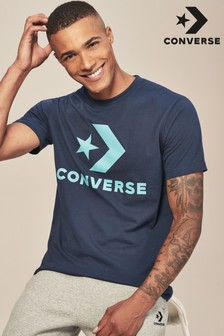 Converse Logo-T-Shirt mit Star Chevron, grau