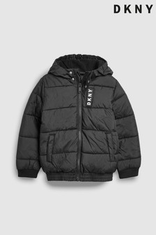 DKNY Black Padded Jacket
