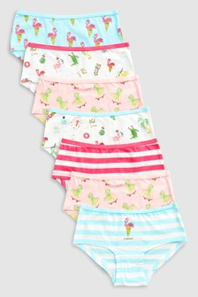 Flamingo Hipsters Seven Pack (3-16yrs)