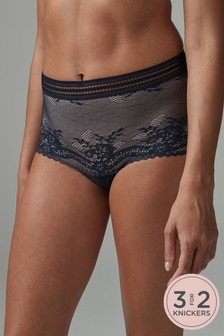 Lace High Rise Shorts