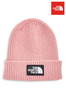 The North Face® Pink Box Cuffed Beanie