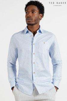 Ted Baker Sauss Linen Blend Shirt