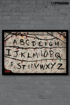 Pyramid International Stranger Things Framed Poster