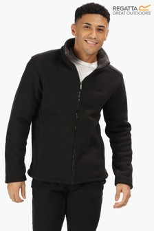 Regatta Black Garrian Full Zip Fleece