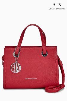 Armani Exchange Red Cross Body Bag