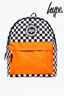 Hype. Check Contrast Backpack