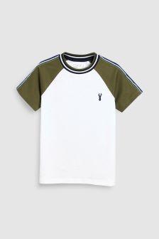 Taped Raglan T-Shirt (3-16yrs)