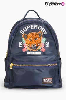 Superdry Navy Tiger Logo Rucksack