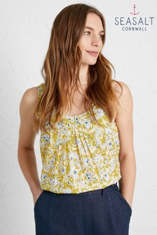 Seasalt Yellow Craft Fair Blouse