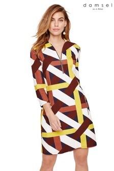 Damsel In A Dress Multi Melissa Ponte Printed Dress