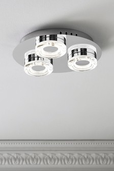 Aura 3 Light Flush Fitting