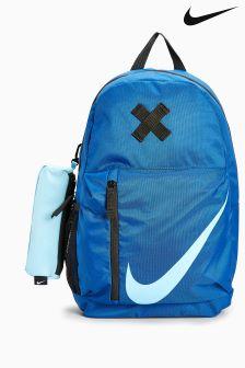 blue nike bag