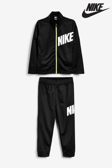 Nike Little Kids Black Tracksuit