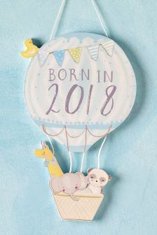 Baby Girl Born in 2018 Hanging Decoration