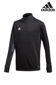 adidas Black Tiro 17 Track Top