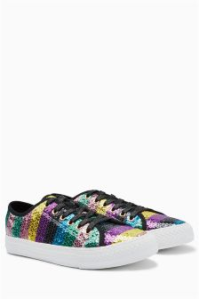 Sequin Trainers
