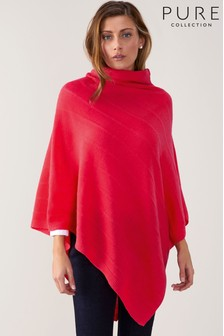 Pure Collection Toccato Textured Poncho