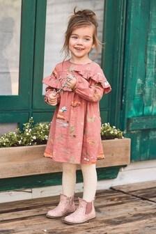 Ruffle Printed Dress (3mths-6yrs)