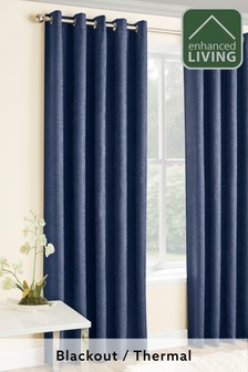 Enhanced Living Lined Thermal Curtains