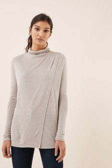 Maternity Drape Nursing Top