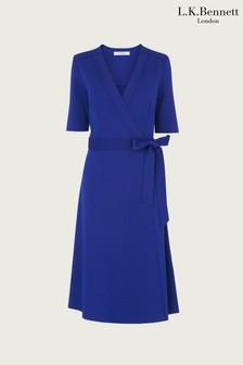 L.k.Bennett Blue Juliet Dress