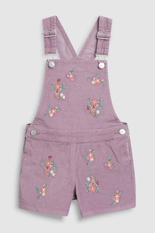 Embroidered Dungaree (3-16yrs)
